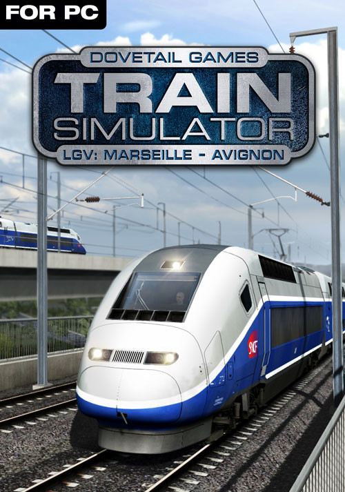 Train Simulator: LGV: Marseille - Avignon Route Add-On - Cover