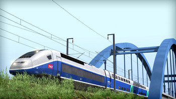 Screenshot2 - Train Simulator: LGV: Marseille - Avignon Route Add-On