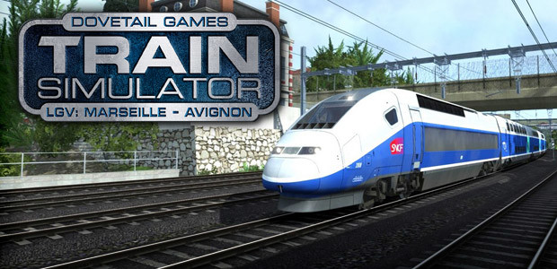 Train Simulator: LGV: Marseille - Avignon Route Add-On - Cover / Packshot