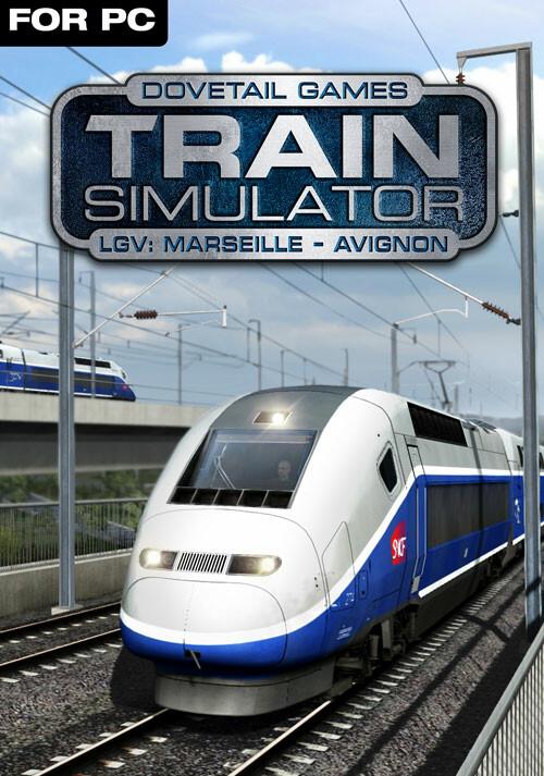 Train Simulator: LGV: Marseille - Avignon Route Add-On - Cover