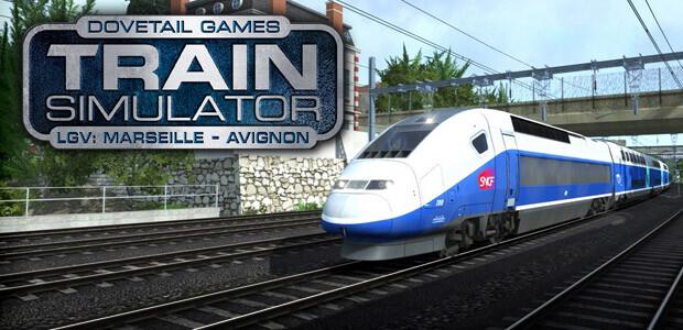Train Simulator: LGV: Marseille - Avignon Route Add-On - Cover / Packshot