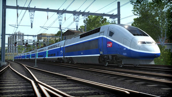 Screenshot1 - Train Simulator: LGV: Marseille - Avignon Route Add-On