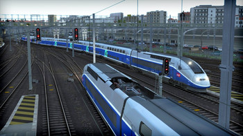 Screenshot3 - Train Simulator: LGV: Marseille - Avignon Route Add-On
