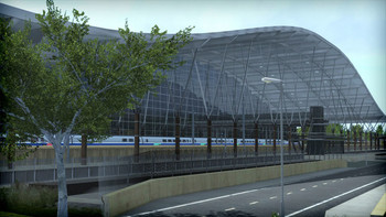 Screenshot6 - Train Simulator: LGV: Marseille - Avignon Route Add-On