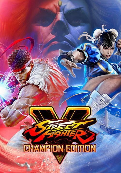 Street Fighter V - Champion Edition - Cover / Packshot