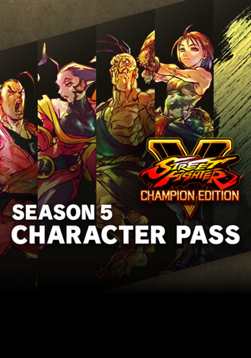 Street Fighter V - Season 5 Character Pass - Cover / Packshot
