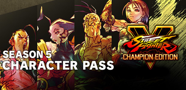 Street Fighter V - Season 5 Character Pass