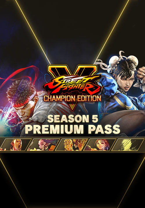 Street Fighter V - Season 5 Premium Pass - Cover / Packshot