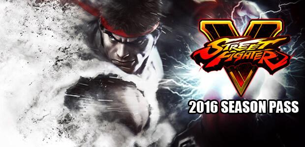 Street Fighter V 2016 Season Pass - Cover / Packshot