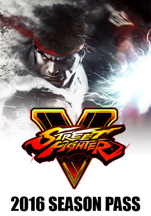 Street Fighter V 2016 Season Pass - Cover