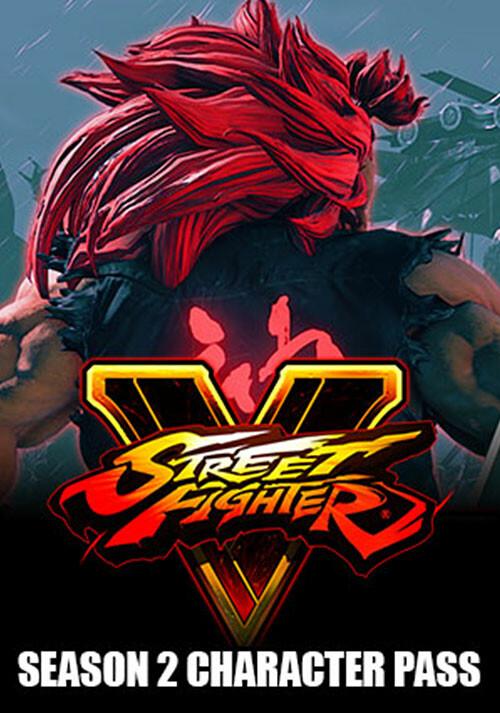 Street Fighter V Season 2 Character Pass - Cover / Packshot