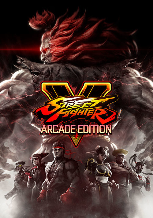 Street Fighter V: Arcade Edition - Cover