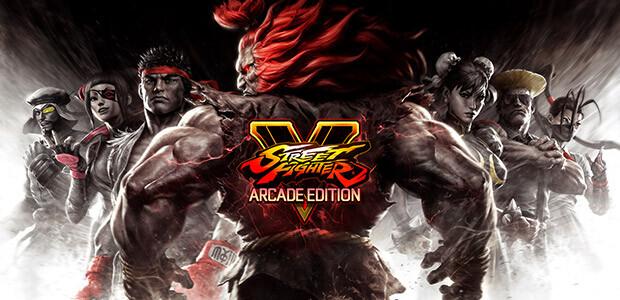 Street Fighter V: Arcade Edition - Cover / Packshot