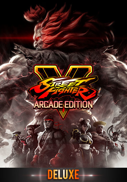 Street Fighter V: Arcade Edition Deluxe - Cover