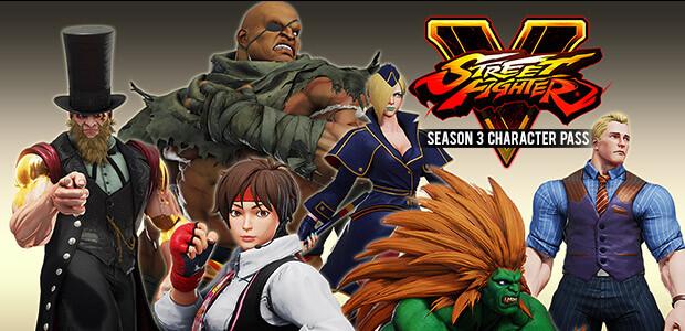 Street Fighter V Season 3 Character Pass - Cover / Packshot