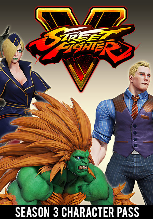 Street Fighter V Season 3 Character Pass - Cover / Packshot