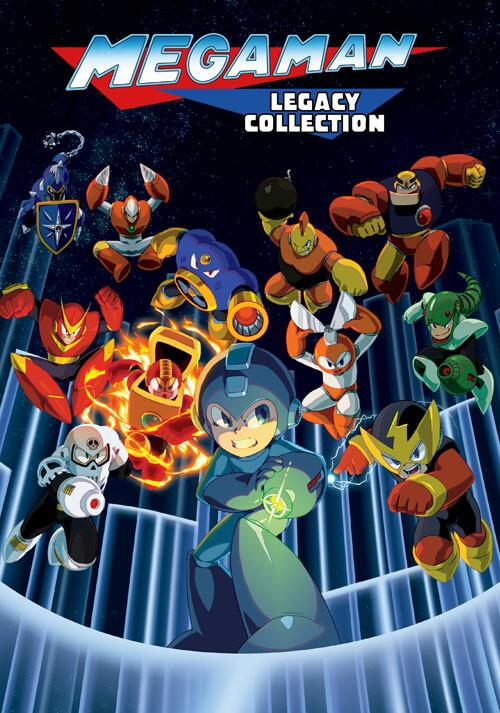 Mega Man Legacy Collection - Cover / Packshot
