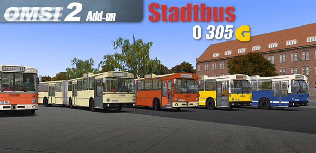 OMSI 2 Add-on Citybus O305G - Cover / Packshot
