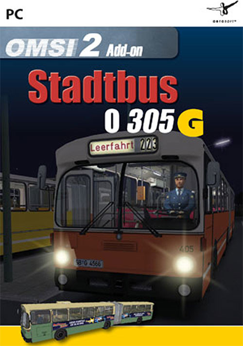 OMSI 2 Add-on Citybus O305G - Cover / Packshot