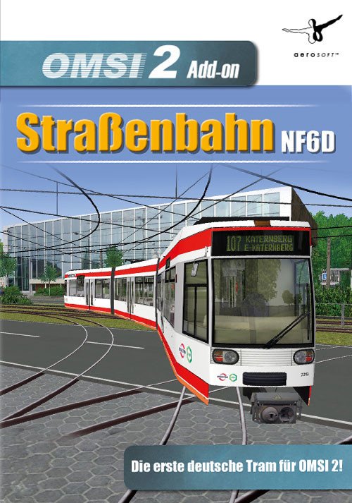OMSI 2 Add-On Tram NF6D Essen/Gelsenkirchen - Packshot