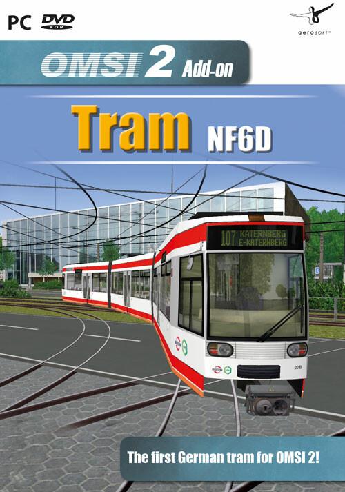 OMSI 2 Add-on Tram NF6D Essen/Gelsenkirchen - Cover / Packshot
