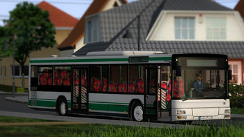 Screenshot1 - OMSI 2 Add-on MAN Stadtbusfamilie