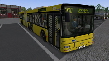 Screenshot2 - OMSI 2 Add-on MAN Citybus Series