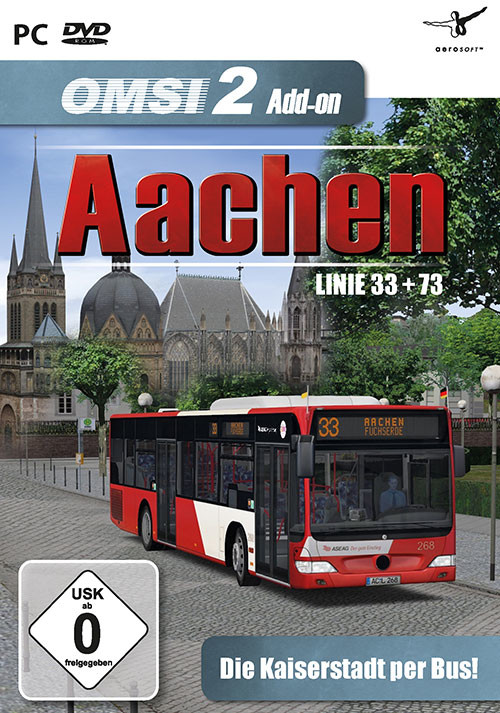 OMSI 2 Add-on Aachen - Cover / Packshot