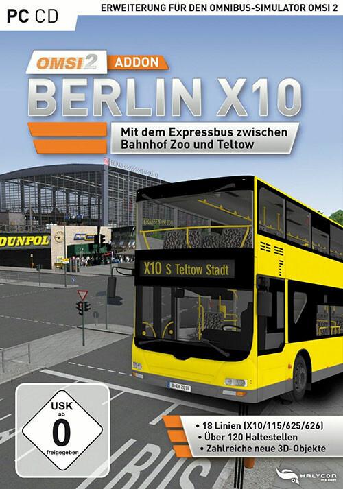 OMSI 2 Add-on Berlin X10  - Cover / Packshot
