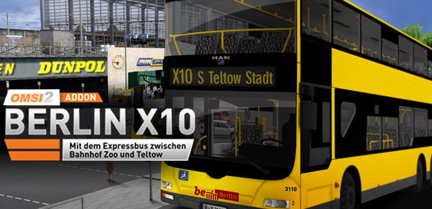 OMSI 2 Add-on Berlin X10  - Cover / Packshot