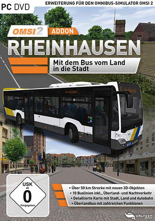 OMSI 2 Add-on Rheinhausen - Cover / Packshot