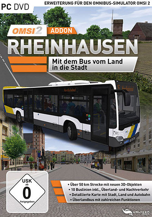 OMSI 2 Add-on Rheinhausen - Cover / Packshot