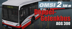 OMSI 2 Add-on Doppelgelenkbus AGG 300