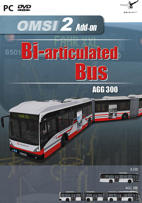OMSI 2 Add-on Bi-articulated bus AGG300 - Cover / Packshot
