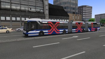 Screenshot2 - OMSI 2 Add-on Bi-articulated bus AGG300