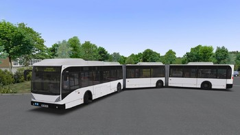 Screenshot1 - OMSI 2 Add-on Bi-articulated bus AGG300