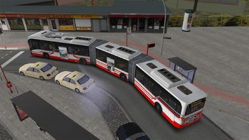 Screenshot5 - OMSI 2 Add-on Bi-articulated bus AGG300