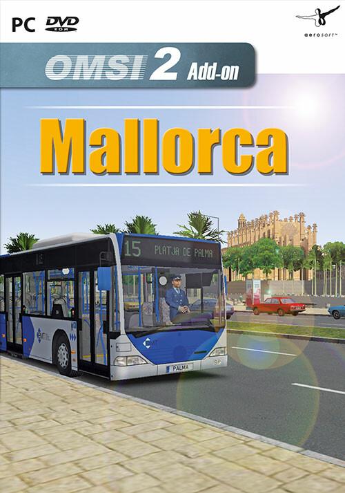 OMSI 2 Add-on Mallorca - Cover / Packshot