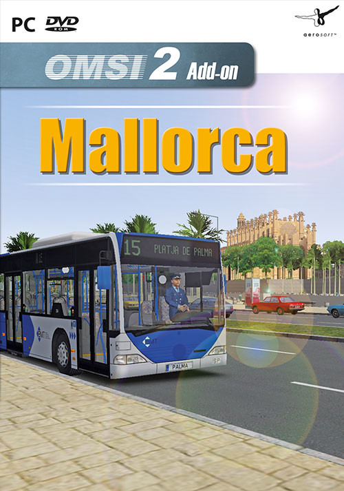OMSI 2 Add-on Mallorca - Cover / Packshot