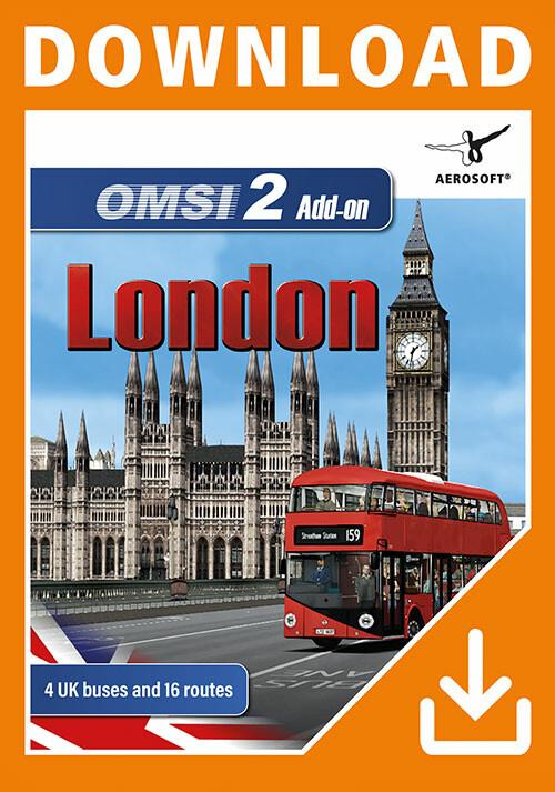 OMSI 2 Add-on London - Cover / Packshot