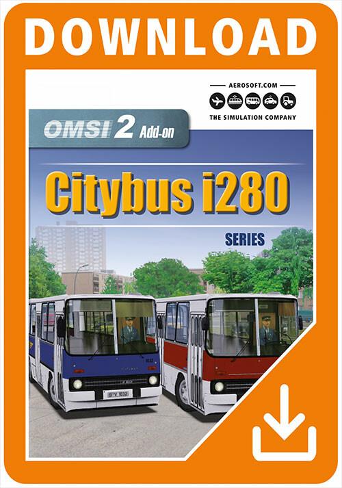 OMSI 2 Add-On Citybus i280 Series - Packshot