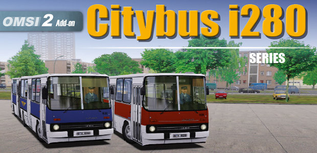 OMSI 2 Add-on Citybus i280 Series - Cover / Packshot