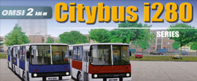 OMSI 2 Add-on Citybus i280 Series