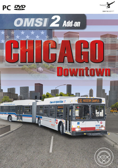 OMSI 2 Add-on Chicago Downtown - Cover / Packshot