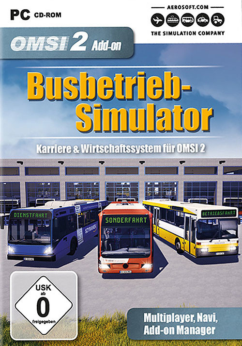 OMSI 2 Add-on Busbetrieb-Simulator - Cover / Packshot