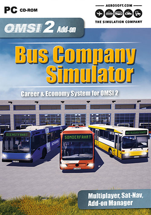 OMSI 2 Add-on Bus Company Simulator - Cover