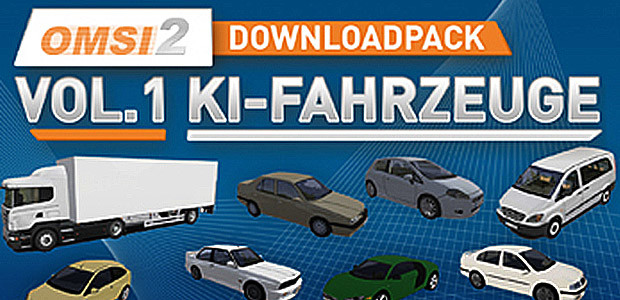 OMSI 2 Add-on Downloadpack Vol. 1 - AI-vehicles - Cover / Packshot