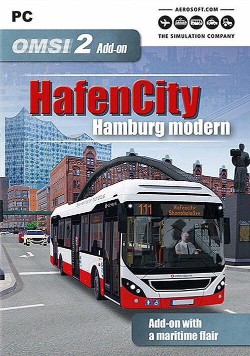 OMSI 2 Add-on HafenCity - Hamburg modern - Cover / Packshot