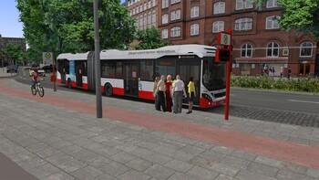 Screenshot1 - OMSI 2 Add-on HafenCity - Hamburg modern