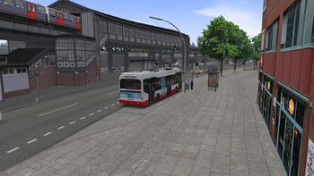 Screenshot5 - OMSI 2 Add-on HafenCity - Hamburg modern